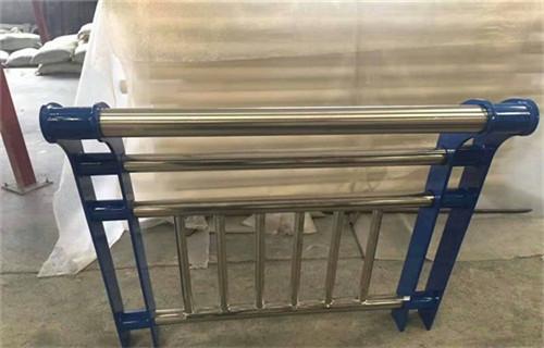 晋中增强型q235焊接护栏立柱用多大钢管