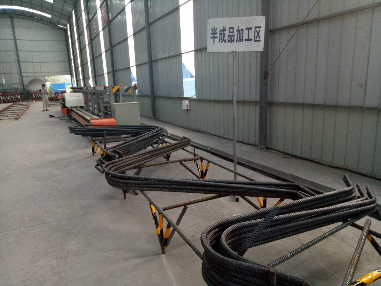 陕西省安康市G2L32x立式钢筋弯曲中心