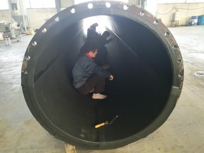 天津電廠襯膠管制造廠家