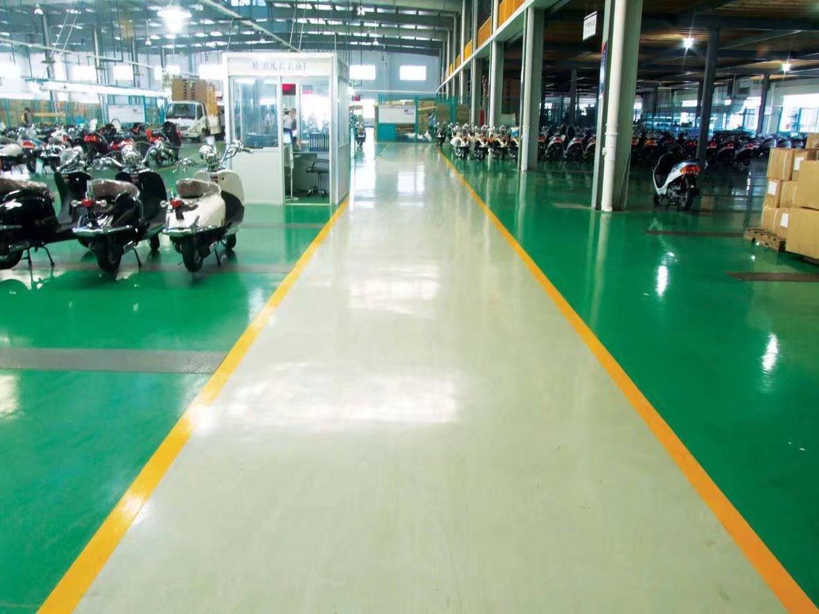 资讯:淮北环氧超耐磨地坪漆--谋成施工