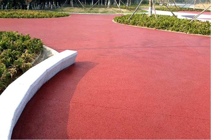 彩色透水地坪--马鞍山透水道路价格