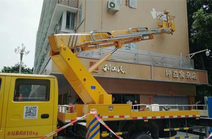 梅江16米.18米安装升降机出租--查看