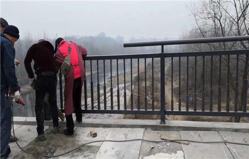 南平不锈钢河道栏杆复合管厂家主营