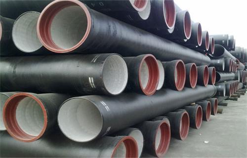 安康K9级供水球墨铸铁管300安装方法